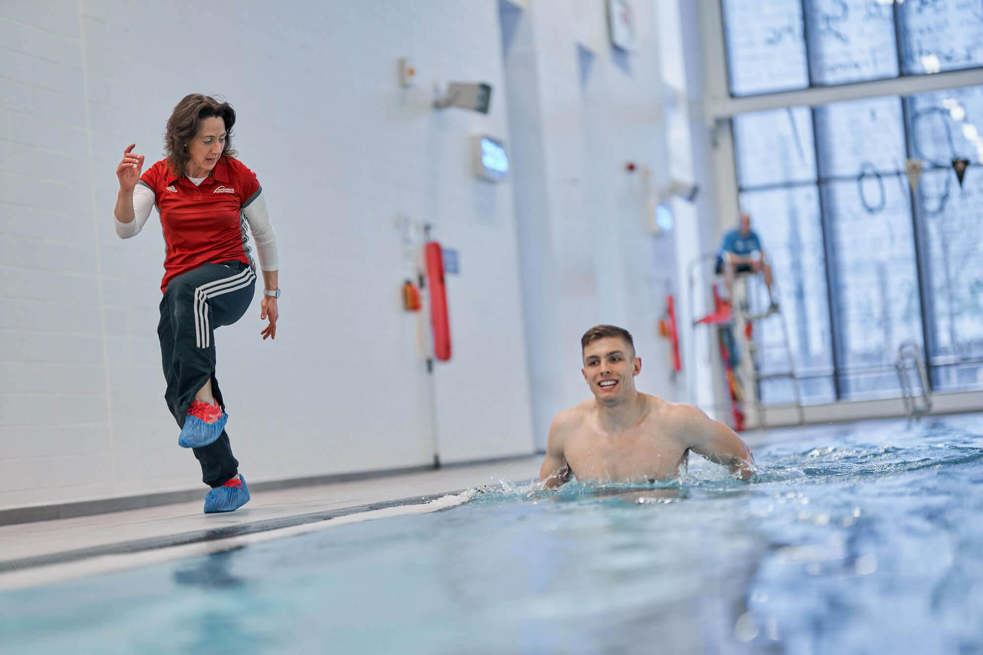 north sport physio - pool rehabilitation